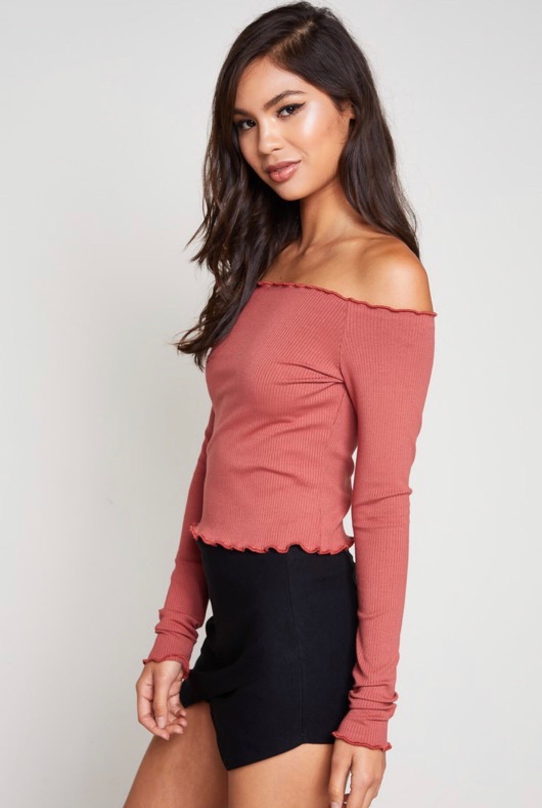 jules off the shoulder top