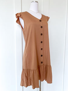 milan button dress