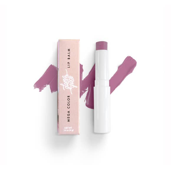 mega color lip balm | luxe lilac