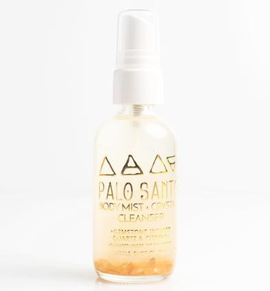 body + crystal cleanser | palo santo