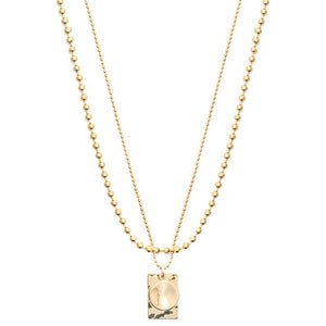 skylar layered pendant necklace