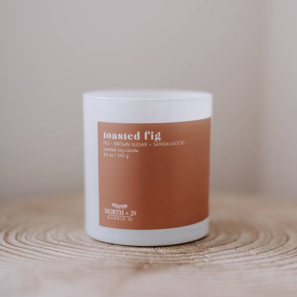 handpoured soy candle | toasted fig