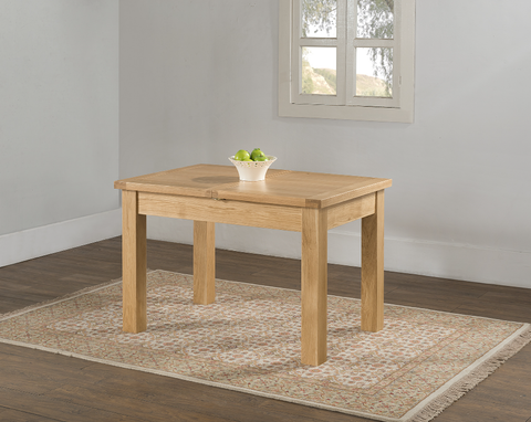 Edale 120 x 80 Butterfly Extension Table