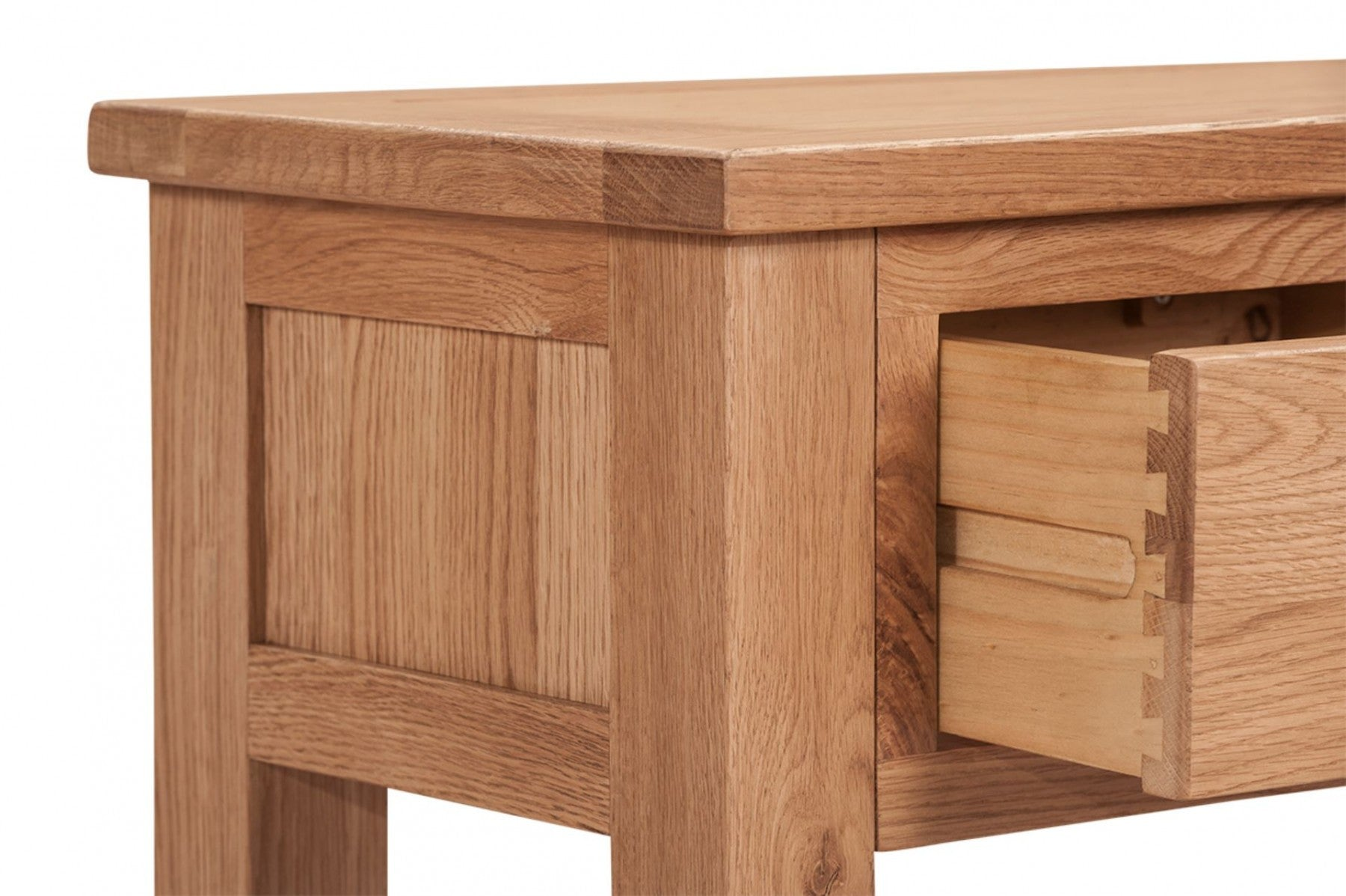 mini oxford wax  drawer console table – the home mill -  mini oxford wax  drawer console table