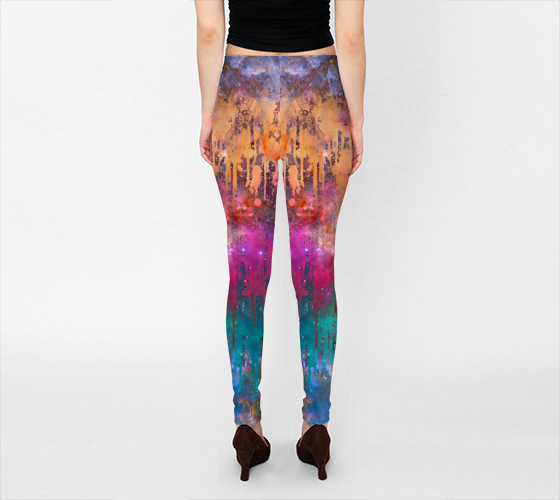 Galaxy Drip 2 Leggings -  - Leggings - escapistWEAR - 2