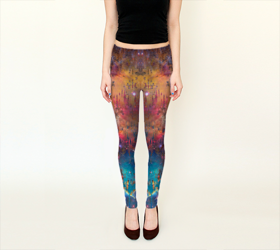 Galaxy Drip 2 Leggings -  - Leggings - escapistWEAR - 1