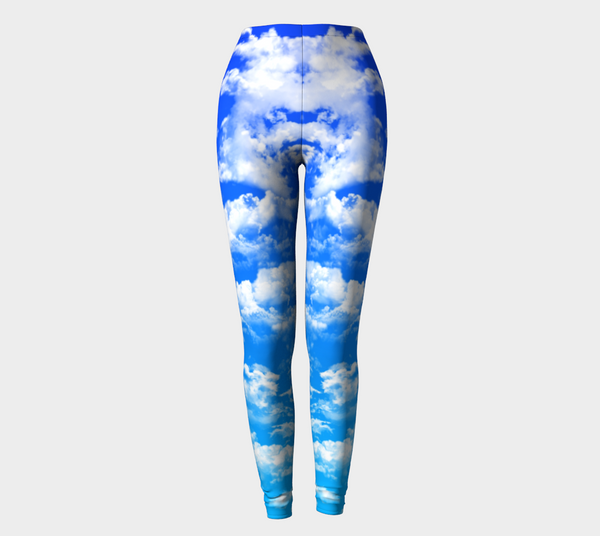 Clouds 1 Leggings -  - Leggings - escapistWEAR - 1