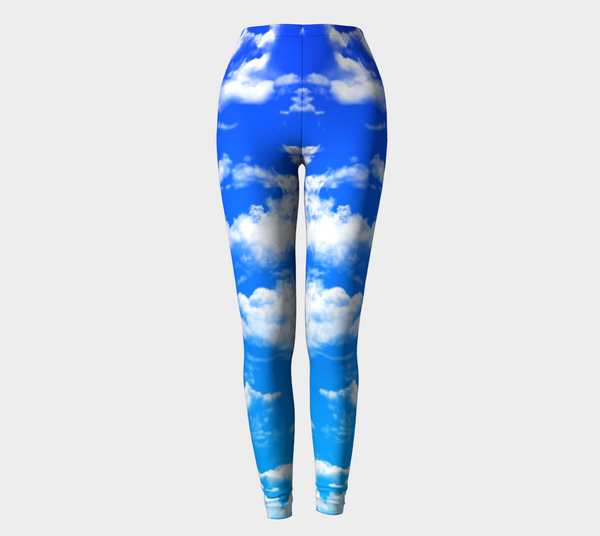 Clouds 2 Leggings -  - Leggings - escapistWEAR - 1