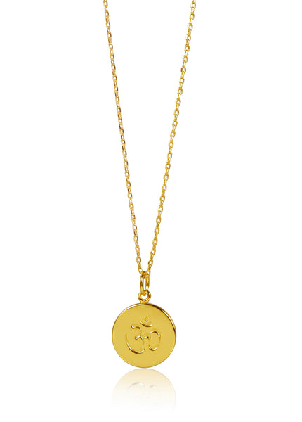 DISC NECKLACE - OHM