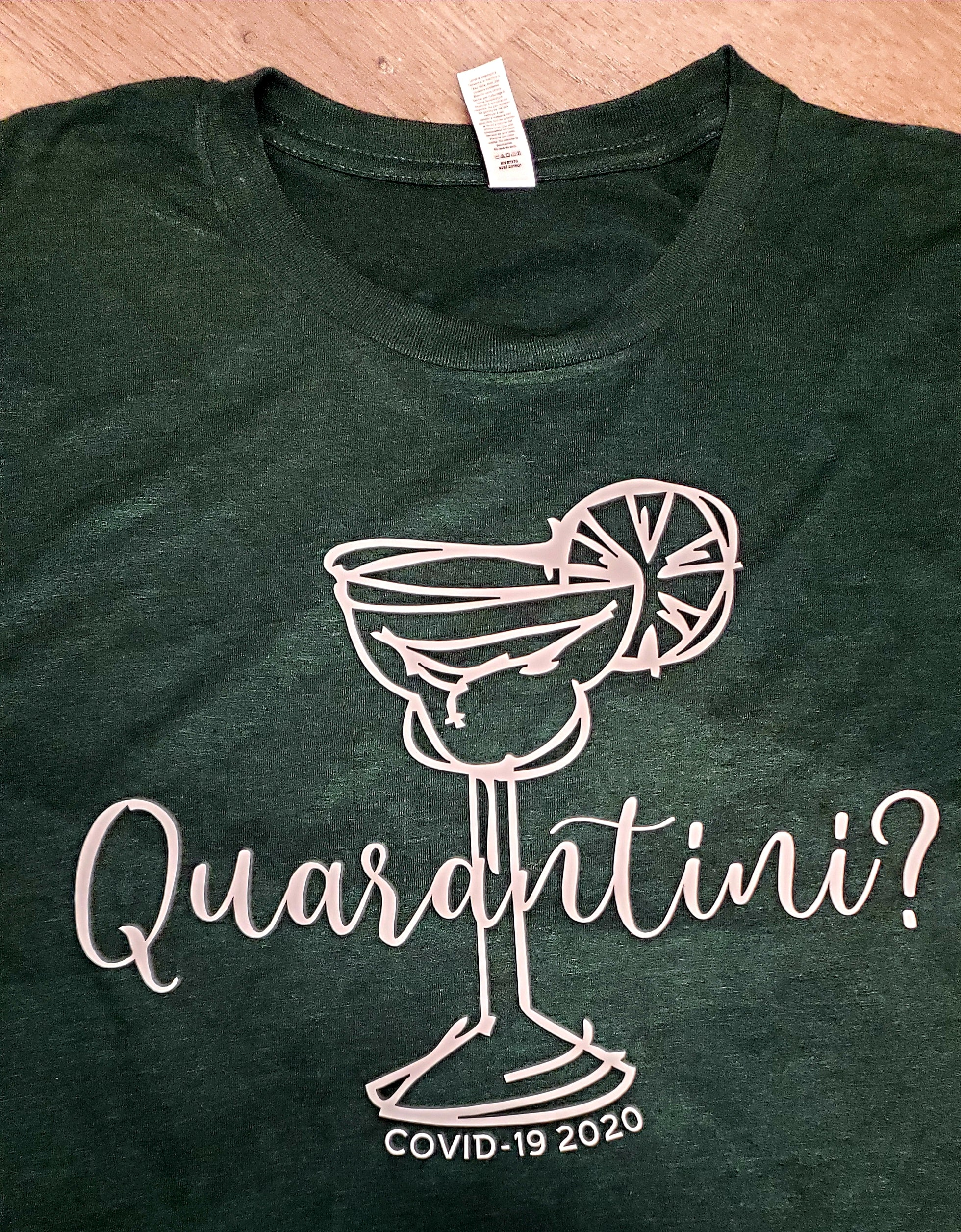 Quarantini Short Sleeve T-shirt