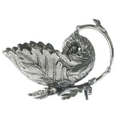 Acorn and Oak Leaf Pewter Gravy Boat - GDH | The decorators department Store