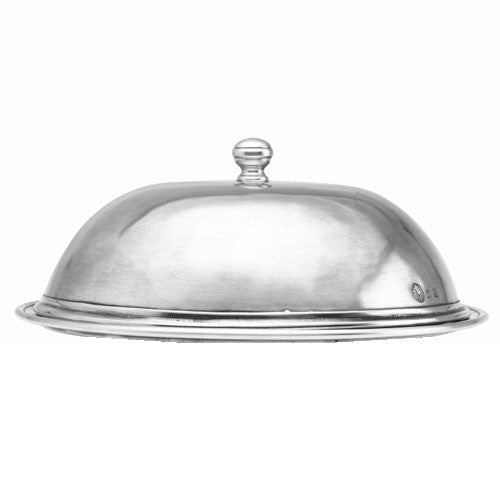 Pewter Cloche by Match Pewter Large