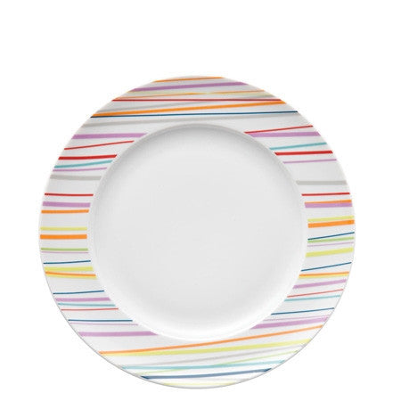 Rosenthal Thomas Sunny Day Sunny Stripes Dinner Plate, 10.5 inch - GDH | The decorators department Store