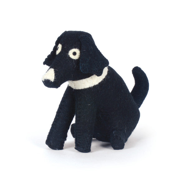 Door Stopper | Black Dog