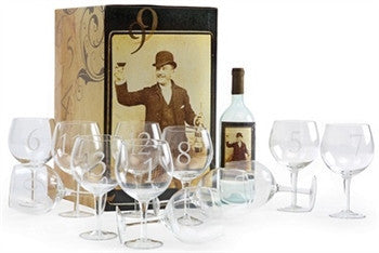 Numerology Wine Glasses - GDH | The decorators department Store