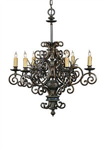 Frederick Cooper |  Weathered Bronze Chandelier - GDH | The decorators department Store