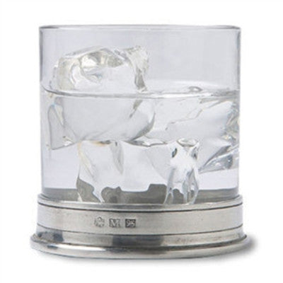 Match Pewter Classic Double Old Fashioned Glass - GDH | The decorators department Store