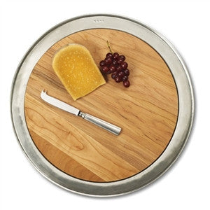 Match Pewter Round Cheese Board - GDH | The decorators department Store