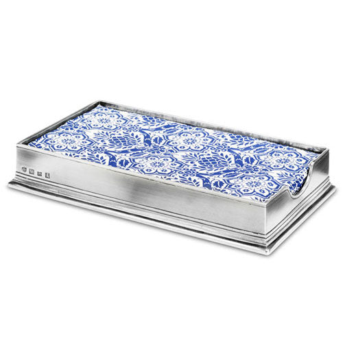 Match Pewter Dinner Napkin Box