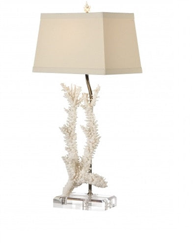 Captiva Table Lamp in Foam White - GDH | The decorators department Store