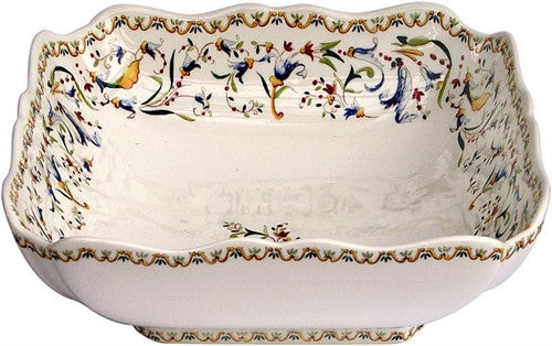 Gien Toscana Square Fruit/Salad Bowl - GDH | The decorators department Store