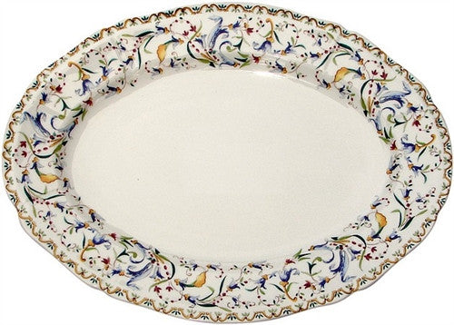 Gien Toscana Small Oval Serving Platter - GDH | The decorators department Store