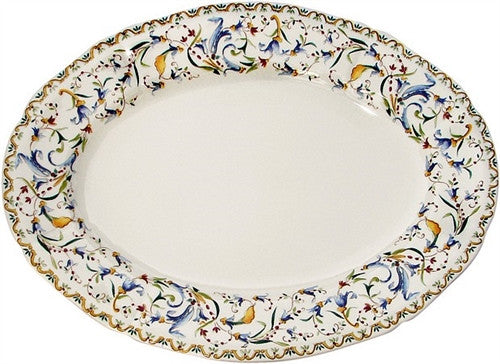 Gien Toscana Large Oval Serving Platter - GDH | The decorators department Store