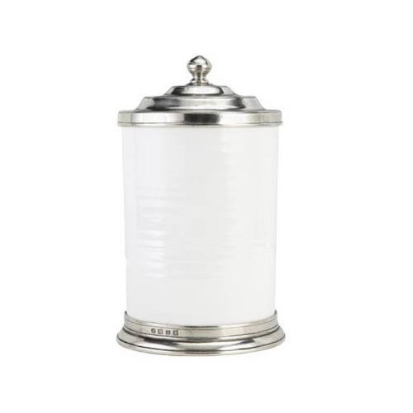 Match Pewter Convivio Ceramic Canisters - GDH | The decorators department Store - 1
