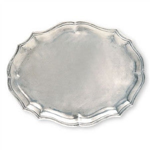 Match Pewter Gallic Tray - GDH | The decorators department Store