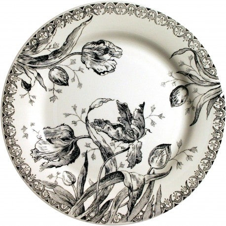 Gien Tulipes Noires Dinnerware-Set of 4 - GDH | The decorators department Store