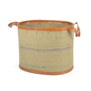 Jute Tub - Oval - GDH | The decorators department Store