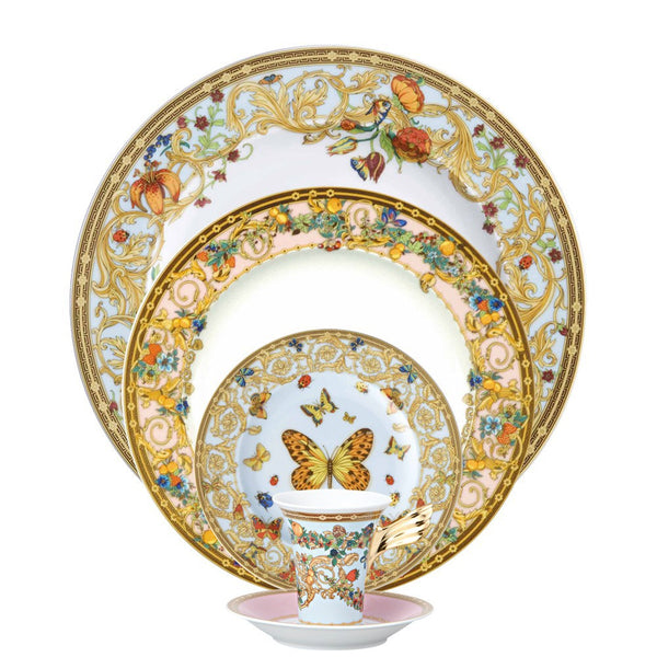 Butterfly Garden 5 piece Dinnerware Set - GDH | The decorators department Store