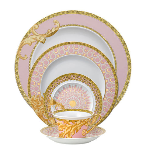 Byzantine Dreams 5 piece Dinnerware Set - GDH | The decorators department Store  sc 1 st  VERSACE - GORE DEAN HOME & VERSACE - GORE DEAN HOME