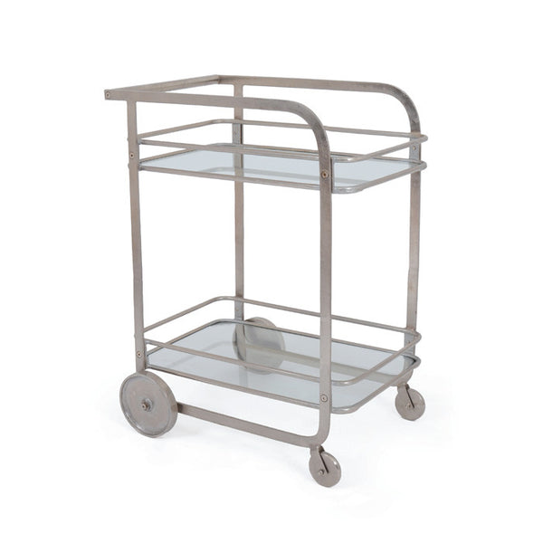 Sydney Two-Tier Bar Trolley