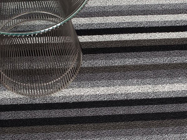 Even Stripe Indoor/Outdoor Mat | Mineral