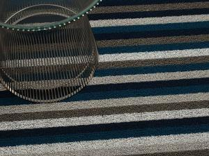 Shag Door Mats (Even Stripe) by Chilewich - GDH | The decorators department Store - 1
