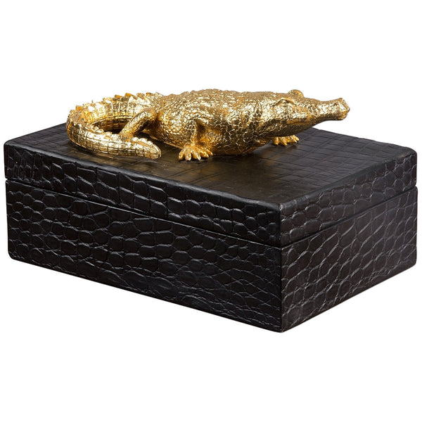 Crocodile Box - GDH | The decorators department Store