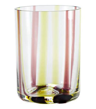 Tirache Tumbler Set of 6 | apple green-amethyst