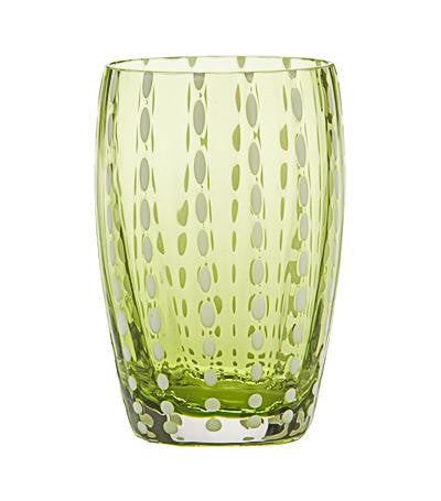 Perle Glassware | Apple Green - GDH | The decorators department Store - 2