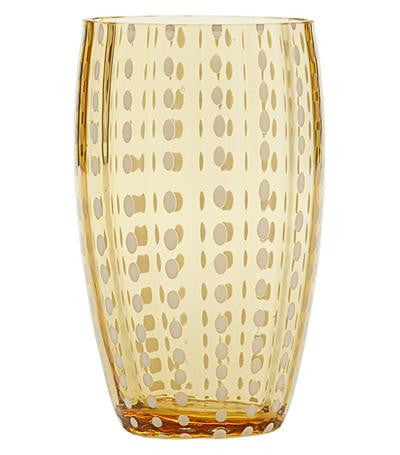 Perle Glassware | Amber - GDH | The decorators department Store - 1