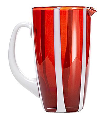 Gessato Pitcher | Red