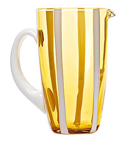 Gessato Pitcher | Amber