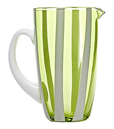 Gessato Pitcher | Apple Green