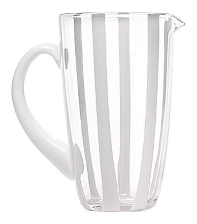 Gessato Pitcher | Transparant