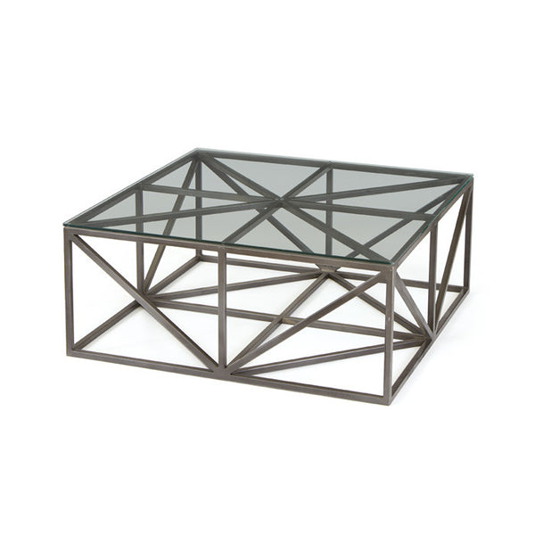 Hanover Glass Coffee Table - GDH | The decorators department Store