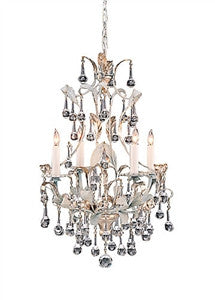 Silver Crystal  Chandelier - GDH | The decorators department Store