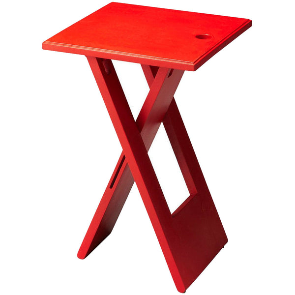 Hammond Folding Table | Red