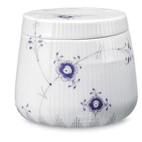 Elements Hand Painted-Small Bowl w/Lid(Lavender) - GDH | The decorators department Store