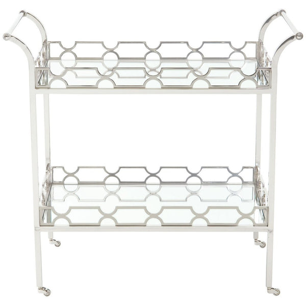 Designer Metal Bar Cart
