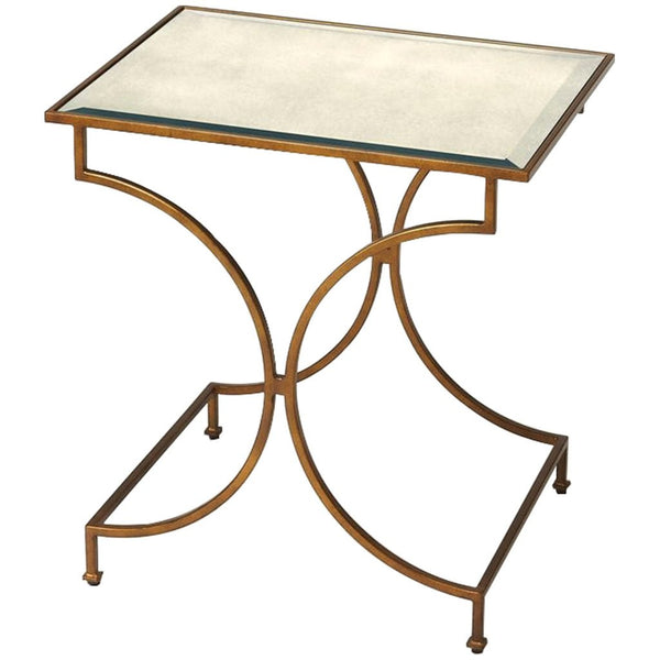Esperanza Antique Gold End Table